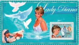 Guinea  2006 Princess Diana ,Mother Teresa - Guinea (1958-...)