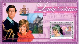 Guinea  2006 Princess Diana ,Pope John Paul II - Guinea (1958-...)