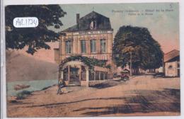 FUMAY- HOTEL DE LA GARE- COLORISEE- 1936 - Other Municipalities