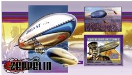 Guinea  2006  Zeppelin ,airships - Guinea (1958-...)