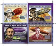 Guinea  2006  Zeppelin ,Henri Giffard,airships - Guinea (1958-...)