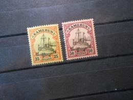 D.R.11/14  25Pf**MNH/50Pf*MLH  Deutsche Kolonien (Kamerun) 1900  Mi 7,40 € - Colony: Cameroun