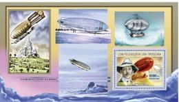 Guinea  2006  Airships, Alberto Santos - Dumont - Guinea (1958-...)