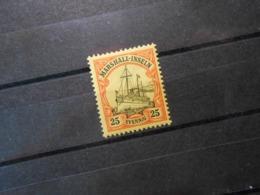 D.R. 17  25Pf**MNH - Deutsche Kolonien (Marshall-Inseln) Mi 3,00 € - Colonie: Marshall