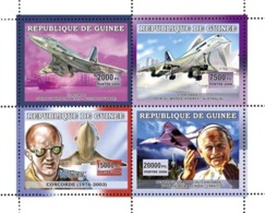 Guinea  2006 Concorde ,airplanes,Pope John Paul II - Guinea (1958-...)