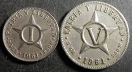Cuba 1+5 Centavos 1961 - Cuba