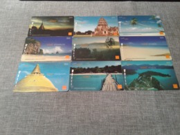 Thailand - 9 Nice Phonecards - Thailand