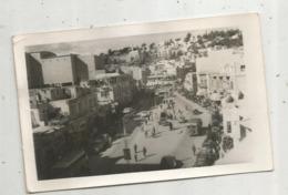 Cp , Carte-photo, JORDANIE ,AMANN , 1954 ,bus - Jordanie