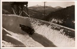 ! Alte Ansichtskarte Olympia Bobbahn, Bobsleight, Garmisch Partenkirchen, Wintersport - Olympic Games