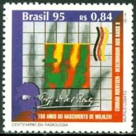 BRAZIL 1995 X-RAY DISCOVERY CENTENARY** (MNH) - Brasile