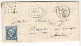 21989 - FABRIQUE DE  PATES DE GENES - Postmark Collection (Covers)