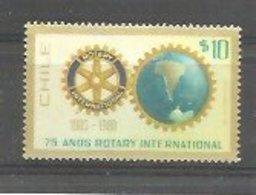 IVERT 538 ** 1980  CHILE - Rotary, Club Leones