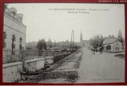 LA CHATAIGNERAIE - Entrée De La Ville - Route De Fontenay - La Chataigneraie