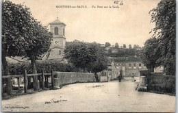 55 MONTIERS SUR SAULX - Un Pont Sur La Saulx. - Montiers Sur Saulx