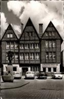 ! S/w Ansichtskarte  Münster In Westfalen, Spiekerhof 47, Bierstuben Wielers, 1976, Autos, VW Ghia, Mercedes - Muenster