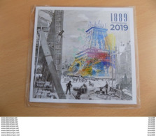Collector (sous Blister) Neuf France 2019 : 130 Ans De La Tour Eiffel (4 Timbres Autocollants Monde) - France