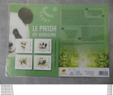 Collector Neuf (sous Blister) France 2019 : Le Panda (4 Timbres) Est Herbivore - France
