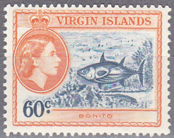 BRITISH VIRGIN ISLANDS     SCOTT NO  124    MNH     YEAR  1956 - Britse Maagdeneilanden