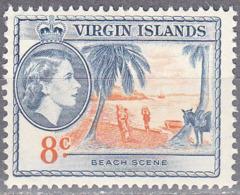 BRITISH VIRGIN ISLANDS     SCOTT NO  121    MNH     YEAR  1956 - Iles Vièrges Britanniques
