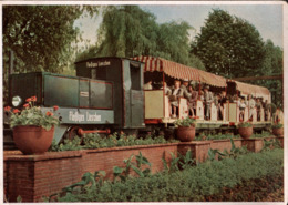 ! Ansichtskarte Gruga 1952, Essen, Grugabahn,  E-Lok, Demag - Treinen