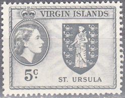 BRITISH VIRGIN ISLANDS     SCOTT NO  120    MNH     YEAR  1956 - Britse Maagdeneilanden