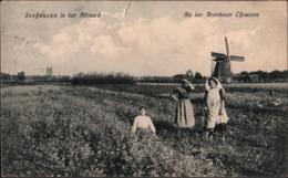 ! Alte Ansichtskarte Seehausen In Der Altmark, Arendseer Chaussee, Sachsen-Anhalt, Windmühle, Moulin A Vent, Windmill - Windmühlen