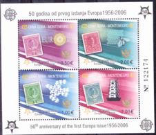 Montenegro - 50 Jahre Europamarken (MiNr: Block 2 A) 2006 - Postfrisch MNH - European Ideas