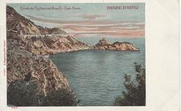IT390 STRADA DA POSITANO AD AMALFI CAPO CONCA DINTORNI DI NAPOLI BEFORE 1904 - Napoli (Napels)