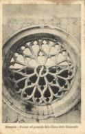 SIRACUSA Rosone Nel Prospetto Della Chiesa Delle Catacombe RV - Siracusa