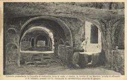 CATACOMBE DI D GIOVANNI SIRACUSA Cubicole Precedente La Capella Di Antiochia RV - Siracusa