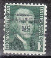 USA Precancel Vorausentwertung Preo, Locals Maine, Hampden 835,5 - Vereinigte Staaten