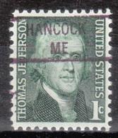 USA Precancel Vorausentwertung Preo, Locals Maine, Hancock 841 - Vereinigte Staaten