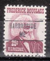 USA Precancel Vorausentwertung Preo, Locals Maine, Harborside 853 - Vereinigte Staaten