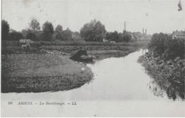 AMIENS - LES HORTILLONNAGES - BELLE ANIMATION - 1921 - Amiens