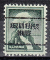 USA Precancel Vorausentwertung Preo, Locals Maine, Kezar Falls 704 - Vereinigte Staaten