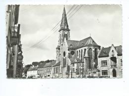 Ham Sur Heure Place Et Eglise - Ham-sur-Heure-Nalinnes