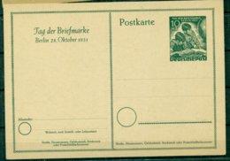 Berlin, Tag Der Briefmarke 1951, Nr. P 27 Ungebraucht - Cartoline - Nuovi