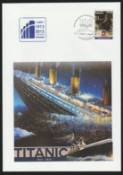 Titanic Cover 2012 Madagasikara Special Cancel 100 Years Of. - Boten