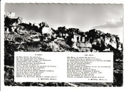 N 428) AK Frankreich Provence: Mistral, Nobelpreis, Mireio Mireille Chant 3, Li Baus, Les Baux - Premi Nobel