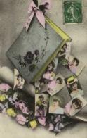 Album CARTES POSTALES  Portraits Jeunes Femmes RV - Tarjetas De Fantasía