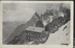 RIFUGIO TORINO AL COLLE DEL GIGANTE - FORMATO PICCOLO - VIAGGIATA ANNI '30 FRANCOBOLLO ASPORTATO - Alpinismo