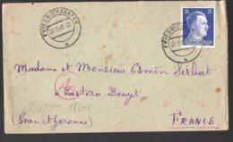 Enveloppe 1943  Avec Timbre Hitler 25, Pf  (PPP20269) - Germania