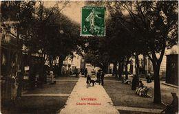 CPA ANTIBES Cours Massena (375493) - Non Classés