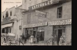 CPA395.....CAHORS ...AUTO GARAGE ARTIGALAS - Cahors