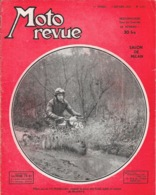Moto Revue Hebdomadaire N° 1117 Janvier 1953: Salon De Milan, Trial (Tilliet) Publicité Vespa - Auto/Moto