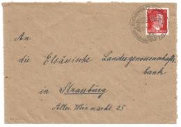 SK60 - BUCHSWEILER - 1944 - Cachet Touristique - BOUXWILLER - - Poststempel (Briefe)