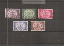 Belgique ( TR 205/209 XXX -MNH) - Chemins De Fer