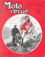 Moto Revue Hebdomadaire N° 1421 Décembre 1958: Père Noël, Trial De Buc - B.S.A 250 Cc - Auto/Moto