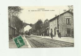 63 - OLLIERGUES - La Gare Animé Train - Olliergues