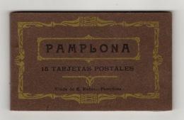 ESPAGNE - Carnet Complet De 15 Cartes. PAMPLONA - Navarra (Pamplona)